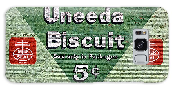 Uneeda Biscuit Vintage Sign Galaxy Case