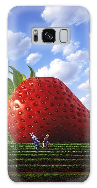 Strawberry Galaxy Case - Unexpected Growth by Jerry LoFaro