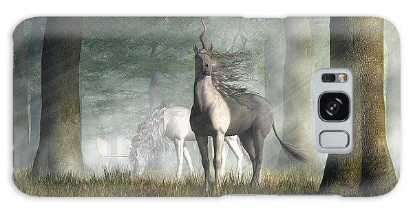 Unicorn Galaxy Case by Daniel Eskridge