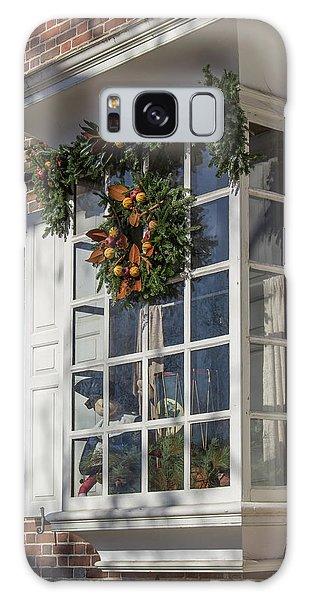Royal Colony Galaxy Case - Unicorn Horn Shop Window by Teresa Mucha
