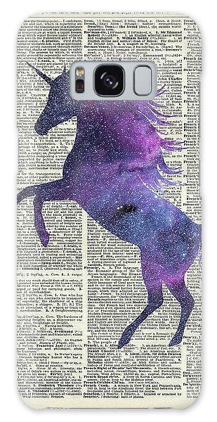 Unicorn In Space Galaxy Case