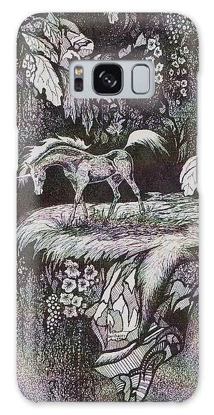Unicorn Galaxy Case by Loxi Sibley