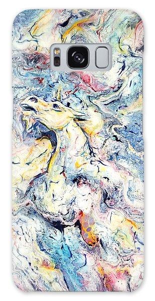 Unicorns And Rainbows  Galaxy Case