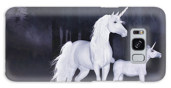 Unicorns In The Mist Galaxy Case