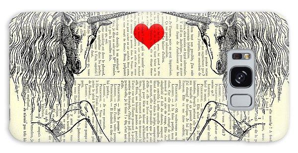 Myth Galaxy Case - Unicorns Love by Madame Memento