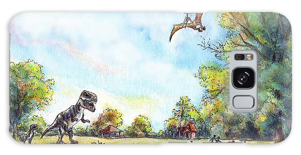 Uninvited Picnic Guests Galaxy Case