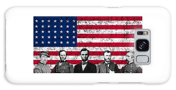 Union Heroes And The American Flag Galaxy Case