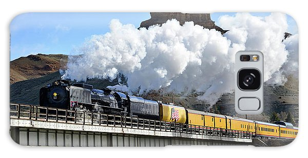 Union Pacific Steam Engine 844 And Castle Rock Galaxy Case