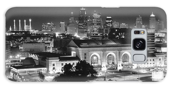 Union Station In Black And White Galaxy Case