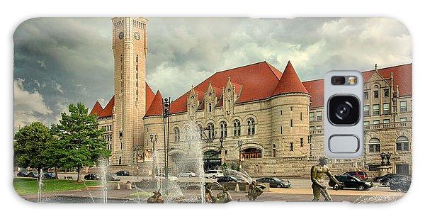 Union Station St Louis Color Dsc00422 Galaxy Case by Greg Kluempers