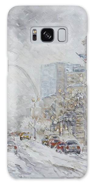 Galaxy Case - Union Station, St.louis - Winter Storm by Irek Szelag