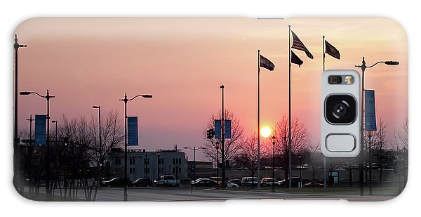 Union Station Sunset Galaxy Case
