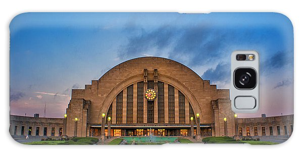 Union Terminal At Dawn Galaxy Case