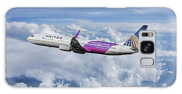 March Galaxy Case - United Airlines March Of Dimes by Erik Simonsen