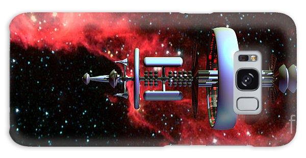 United Earth Space Federation Star Ship Hawkins 2 Galaxy Case