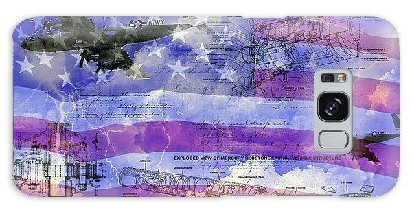 United States Armed Forces One Galaxy Case