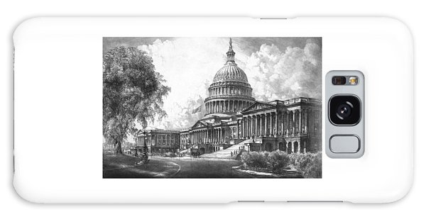 Capitol Building Galaxy S8 Case - United States Capitol Building by War Is Hell Store