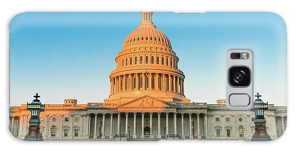 National Monument Galaxy Case - United States Capitol  by Larry Marshall