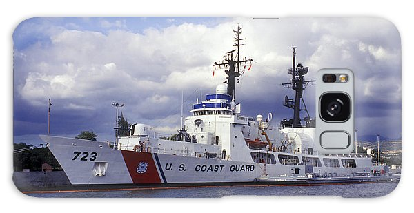 Galaxy Case featuring the photograph United States Coast Guard Cutter Rush by Michael Wood