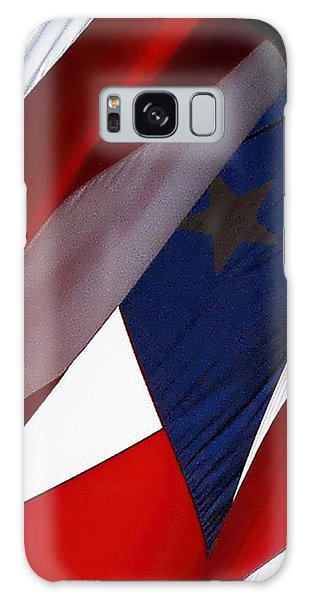 United States Flag Abstract Galaxy Case