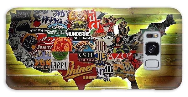 United States Wall Art Galaxy S8 Case