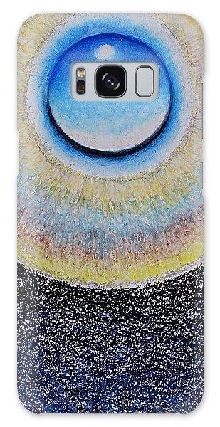 Universal Eye In Blue Galaxy Case