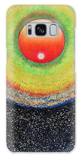 Universal Eye In Red Galaxy Case