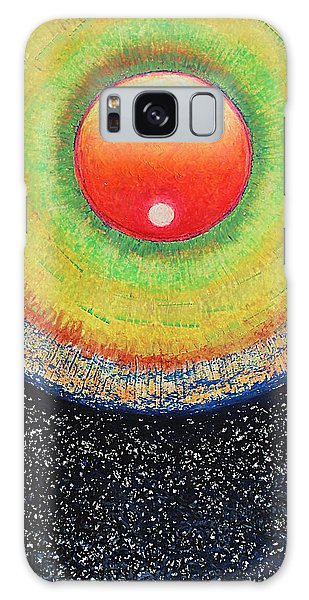 Universal Eye In Red Galaxy Case