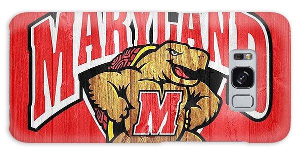 University Of Maryland Barn Door Galaxy Case