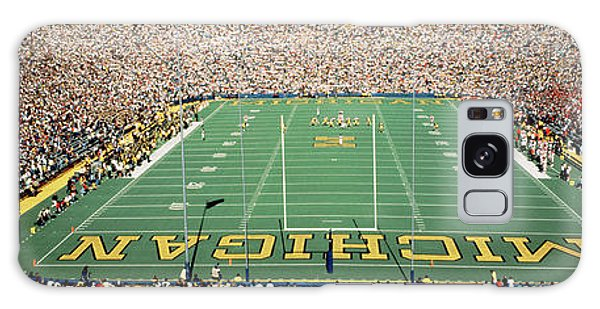 Horizontal Galaxy Case - University Of Michigan Stadium, Ann by Panoramic Images