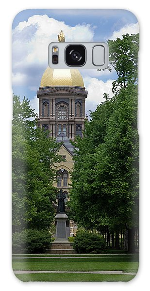 University Of Notre Dame Golden Dome Galaxy Case