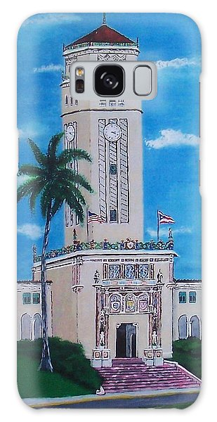 University Of Puerto Rico Tower Galaxy Case by Luis F Rodriguez
