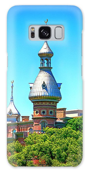 University Of Tampa Minaret Fl Galaxy Case