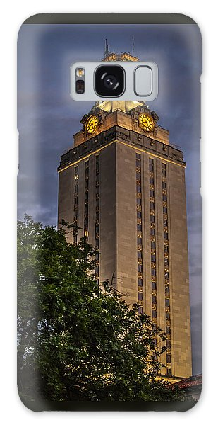 University Of Texas Tower Galaxy Case