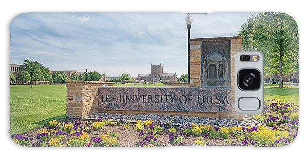 University Of Tulsa Mcfarlin Library Galaxy Case