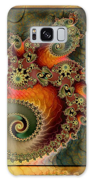 Unleashed Dragon Galaxy Case by Kim Redd