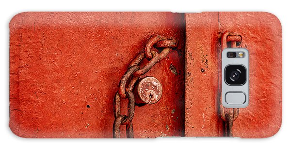 Rusty Chain Galaxy Case - Unlocked by Ana V Ramirez