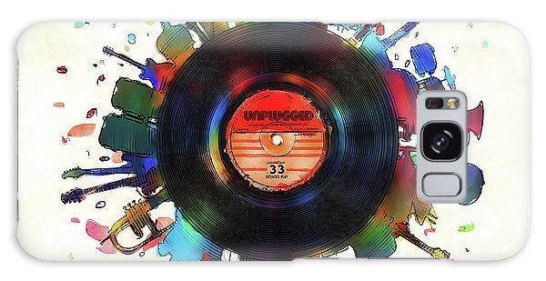 Record Galaxy Case - Unplugged by Mustafa Akgul