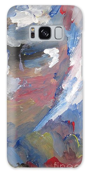 Untitled 141 Original Painting Galaxy Case