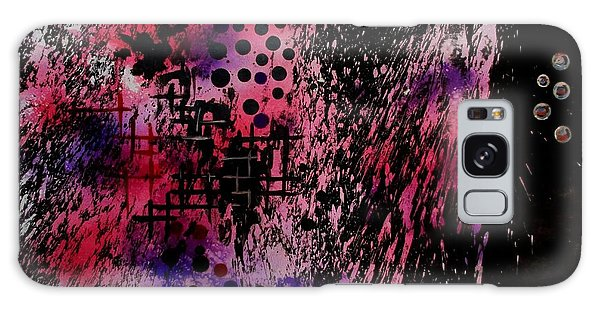 Galaxy Case featuring the painting Bubbles by Tamal Sen Sharma