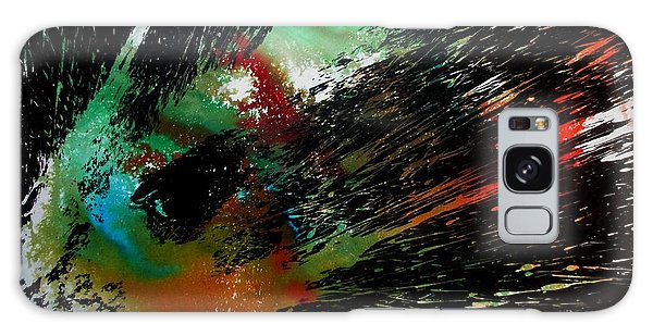 Galaxy Case featuring the painting Spectracular by Tamal Sen Sharma