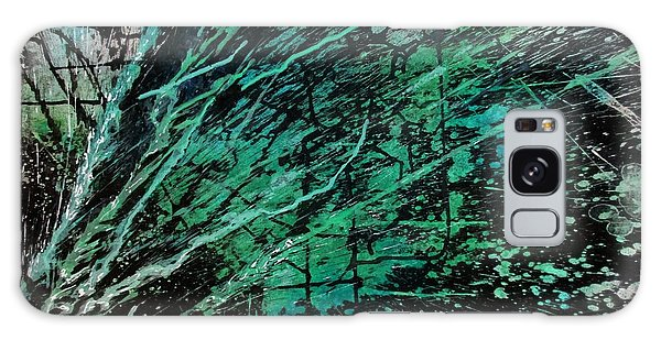 Galaxy Case featuring the painting Rain Of Duars by Tamal Sen Sharma