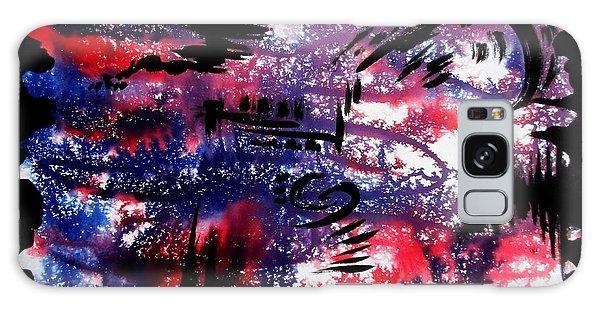 Galaxy Case featuring the painting Bhuswarga by Tamal Sen Sharma