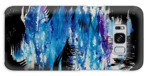 Galaxy Case featuring the painting Flexibility by Tamal Sen Sharma