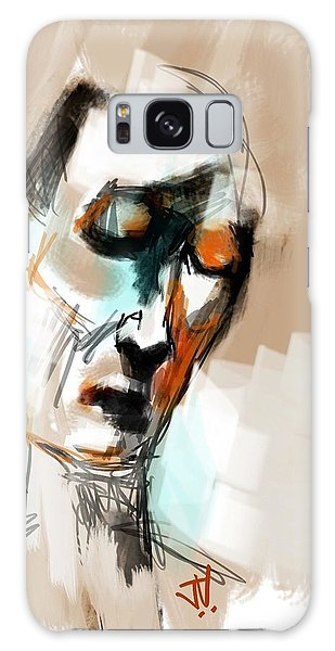 Untitled Portrait Galaxy Case