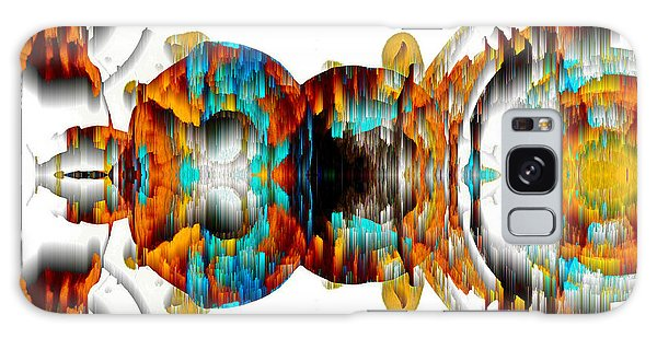 Galaxy Case featuring the digital art Untitled Series 992.042212 -b by Kris Haas