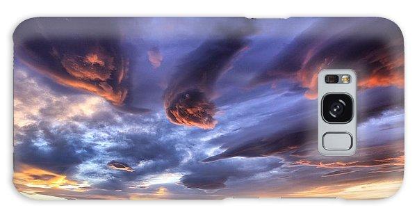 Alien Cloud Formations Galaxy Case by Lynn Hopwood