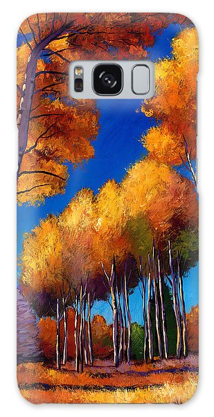 Foliage Galaxy Case - Up And Away by Johnathan Harris
