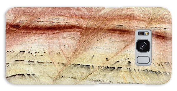 Up Close Painted Hills Galaxy Case by Greg Nyquist
