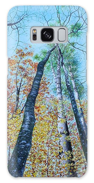 Up Into The Trees Galaxy Case